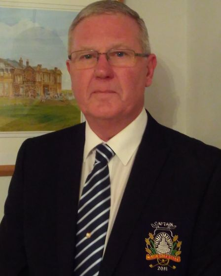 New March Golf Club captain Mick Russell.