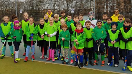 Dozens of youngsters from the City of Ely Hockey Club took part in the second Cambs League tournamen
