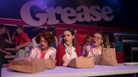 Almost 1,500 people flocked to King's Ely to watch the school's production of the classic musical, G