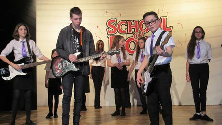 School of Rock at Cromwell Community College at Chatteris