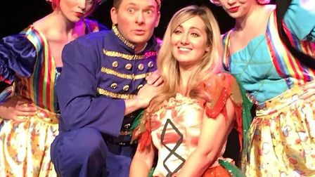 Much loved panto Cinderella is at the Princess Theatre stage in Hunstanton. The cast is pictured on