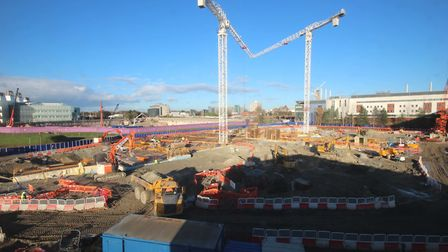 November 20 2015 - The New Papworth Hospital recieves a £40m investment programme. PHOTO: NHS