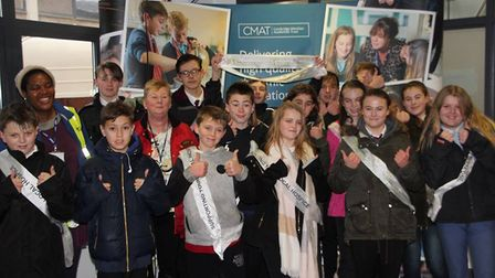 Ely College students celebrated their first 'Charities Day' this week. The day raised nearly £2,000