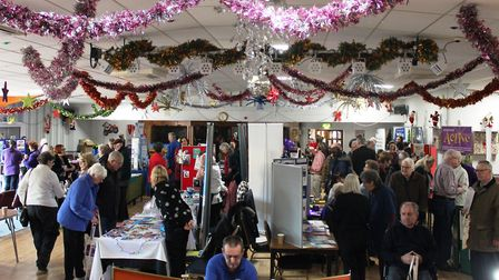 A bustling March Braza Club for the Golden Age Fair.