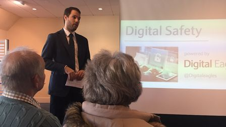 The Ely branch of Barclays hosted a digital security event this month.