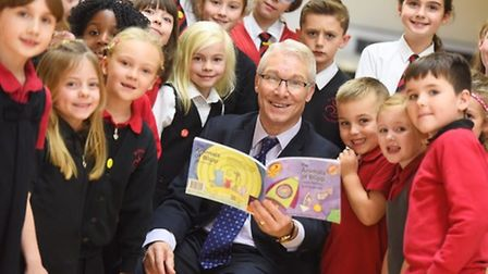 Former Fordham Primary School headteacher Kevin Bullock publishes first childrens book to help East