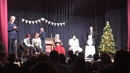 Packed house for 'murder mystery' at The Beeches, Isleham