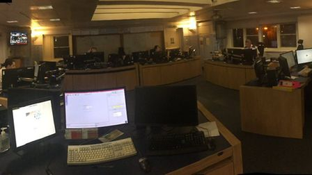 """""""White Watch is now on duty for the night in Control #OurDay #TeamCambs"""""""