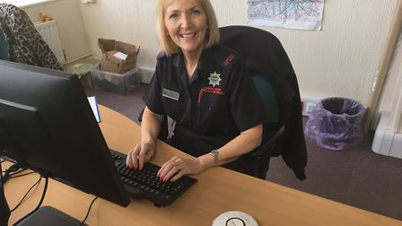 """""""Barbara has been busy fitting smoke alarms in Peterborough today #OurDay"""""""