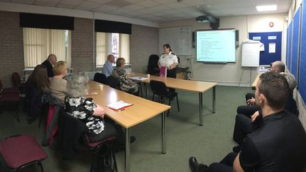 """""""Fire Safety Business Seminar in full swing at Stanground Fire Station #OurDay"""""""