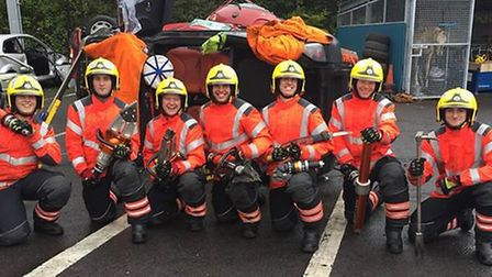 """""""#OurDay is not just for staff in Cambridgeshire. The latest cohort of wholetime firefighter recruit"""