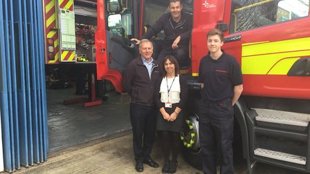 """""""Busy day with the fleet team - keeping all our vehicles in check"""" #OurDay"""