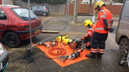 """""""On-call stand-ins at Sawtry Fire Station are helping phase 2s with extra training #OurDay #TeamCamb"""