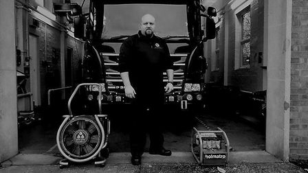 """""""Kit at Papworth Fire Station is ready & the pump is ready to respond. Papworth is one of our on-cal"""