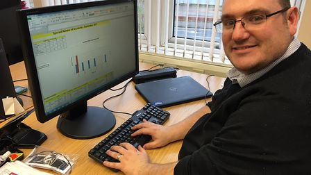 """""""Analysing monthly accident and near miss data is a key role of the health and safety team #OurDay"""""""