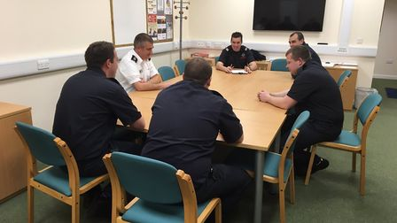 """""""Yaxley crew now finalising plans for their info evening and drill demo next Tues. Go along at 7pm i"""