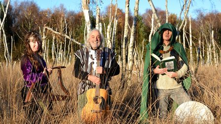A folk loving trio from the fens have come together to form a new band, The Penland Phezants. PHOTO: