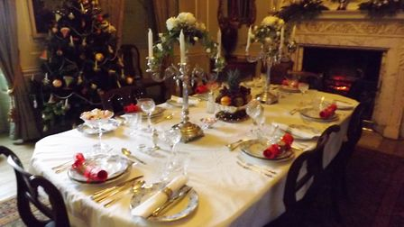 National Trust's Peckover House opens on Saturday 9 December for its Christmas Celebration.
