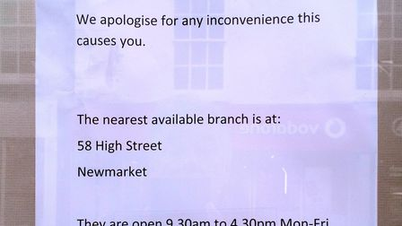 Barclays Bank in Ely closes for two hours when the heating breaks down