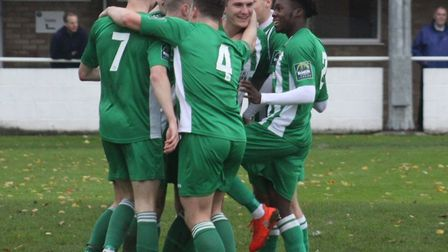 Soham came back from a goal down to beat Witham Town 2-1 last night - their third straight league wi
