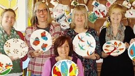 Create a plate with Amanda MacPhail at Babylon ARTS on Friday December 15.