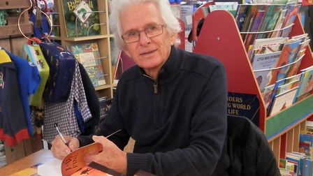 Ely author John Taylor is getting rave reviews for hsi latest novel I will Find You