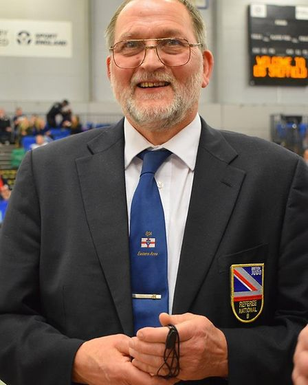 Littleport Judo Club chairman and coach, Ray Taylor.