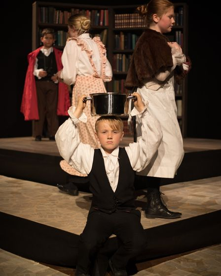 King's Ely Junior's production of Grimm Tales. Photo: Toby Roney