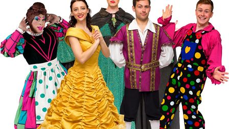 Beauty and The Beast is this year's pantomime at The Maltings, Ely