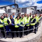 Anglian Water employees who have voted it the second-best company to work for in the UK. Picture: c/