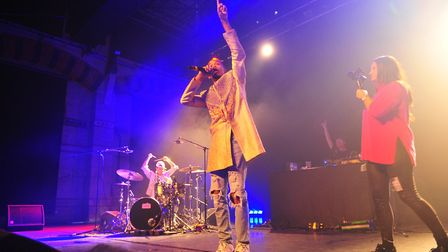 Sir The Baptist, a US R&B/hip-hop artist supported American rapper Nelly during his UK tour. PHOTO: