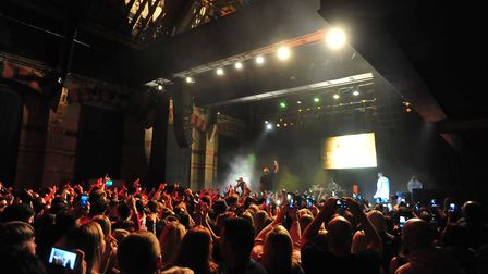 American rapper Nelly brought his UK tour to the Cambridge Corn Exchange. PHOTO: Harry Rutter