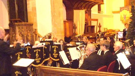 March Brass 2000 to host concert at St Wendreda's Church
