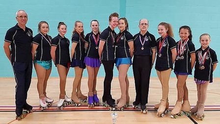 Ely Roller Skating Club has just completed their most successful year of medals since 2011. They com