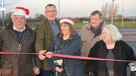 The extended car park at Littleport railway station opened for the first time on Friday morning (Dec