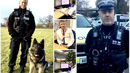 It will be business as usual across the Cambs Police with officers on hand 24/7 to answer calls, res