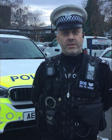 Sgt Chris Smith - It will be business as usual across the Cambs Police with officers on hand 24/7 to