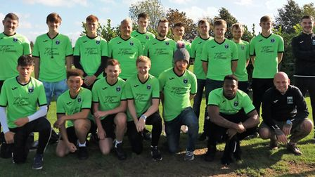 Littleport Town FC 1st Team and Reserves. PHOTO: Cathy Gibb-de Swarte.