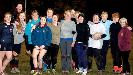 Shelford Rugby Club hosts a 'Warrior Camp' to encourage women to give rugby a try