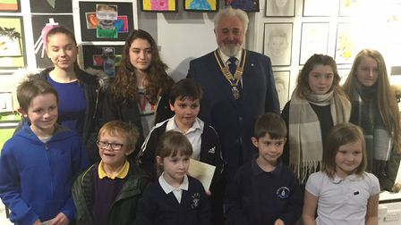 Babylon Gallery and Ely-Hereward Rotary Club team up to host ninth annual East Cambridgeshire School