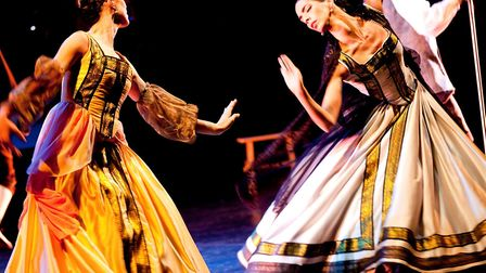 Spanish dancers and musicians celebrate Katharine of Aragon with Peterborough Cathedral performance