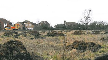 Scubland at 28-30 High Street, Manea, which will be the site for 32 homes