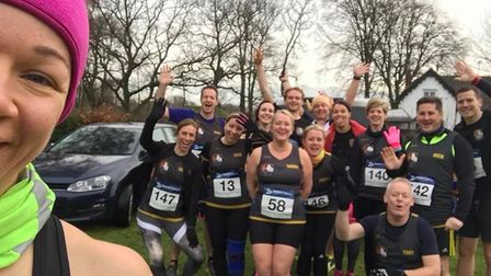 The Three Counties Running Club has had a successful Christmas - here's what they've been up to.