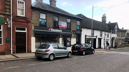Dominos at Soham opened in December 2017 but within three weeks has caused problems of nuisance park