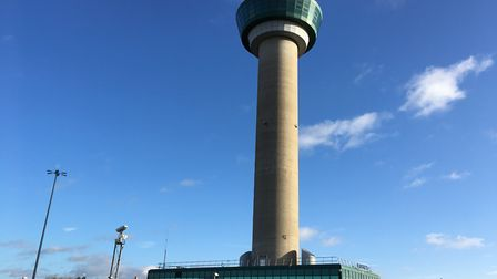 The Stansted Airport control tower. Picture: WILL LODGE