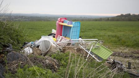 Fly tipping is a serious proboem for farmers in the Fens says Lycetts