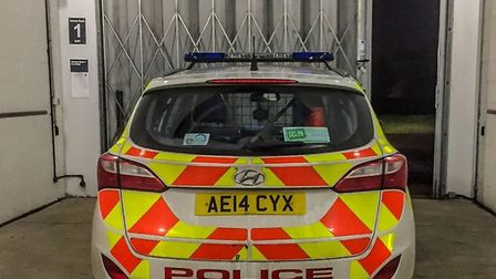 Drink driver nearly three times legal limit arrested in Chatteris. PHOTO: Twitter/Fencops.
