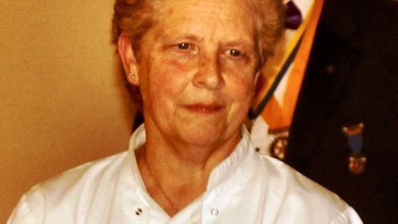 Margaret Tofts. Ely Rotary Club
