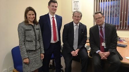 MP Damian Hinds chooses St Andrew's C of E Primary School in Soham as his first school to visit sinc