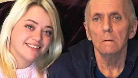 Natasha Drever, of Witchford, is taking 'one giant leap' in March because her grandad, Gerry Linney,